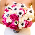 Pink bridal bouquet - Kirth Bobb Photography