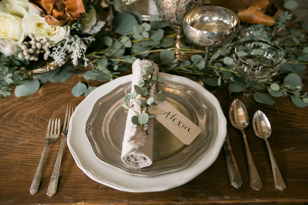 Rustic wedding details - Erin Johnson Photography