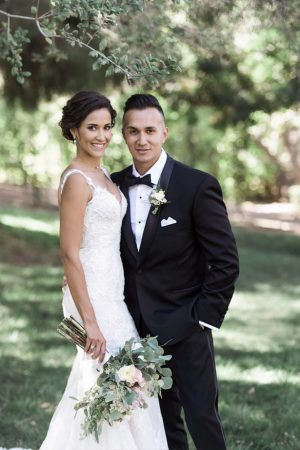 Sophisticated bride and groom - William Innes Photography