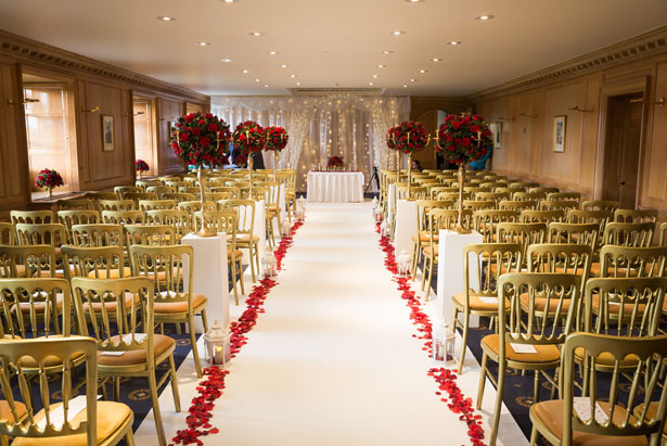 Wedding aisle decoration ideas - Cameo Photography