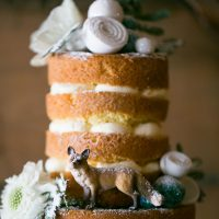 Wedding cake details - Erin Johnson Photography