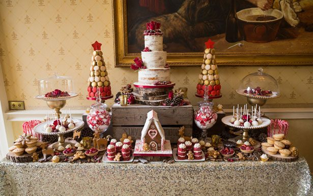 Wedding dessert table - Cameo Photography