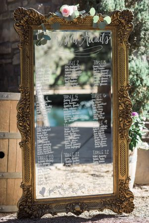 Wedding escort card ideas - William Innes Photography