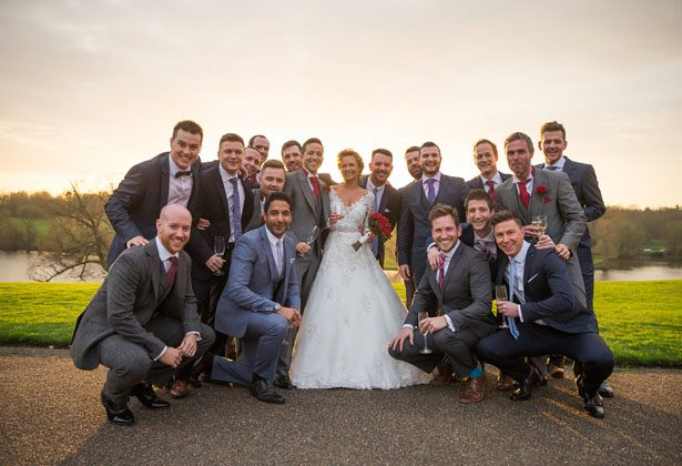 Wedding group picture - Cameo Photography