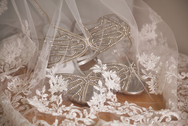 Wedding shoes - Cameo Photography