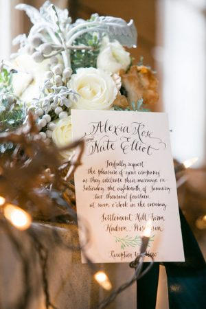 Wedding Invitation - Erin Johnson Photography