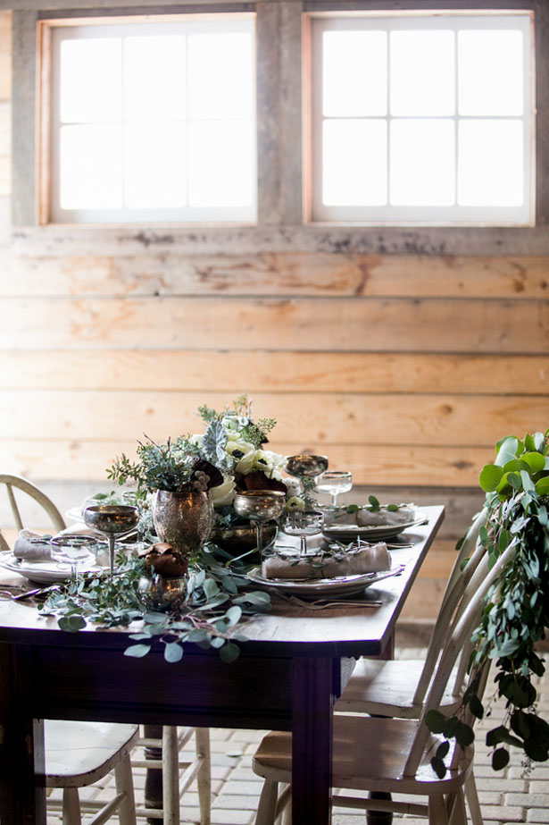 Wedding table setting ideas - Erin Johnson Photography