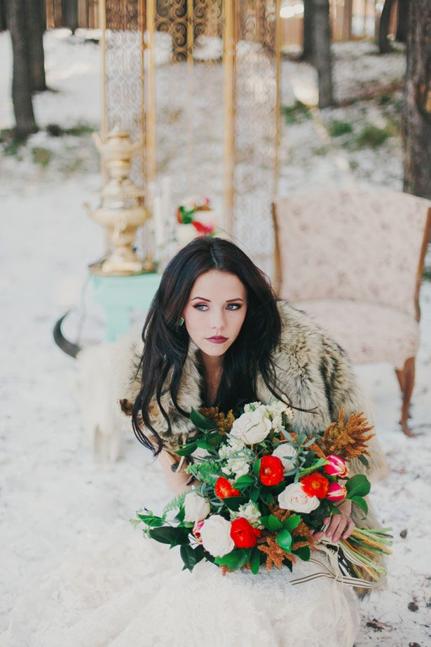 Western Winter Romance Bridal Inspiration