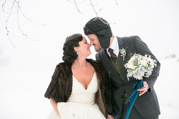 Winter wedding photo ideas - Erin Johnson Photography