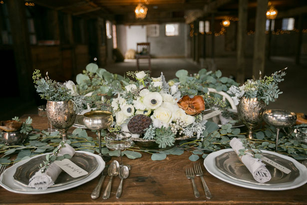 Wedding Centerpiece - Erin Johnson Photography