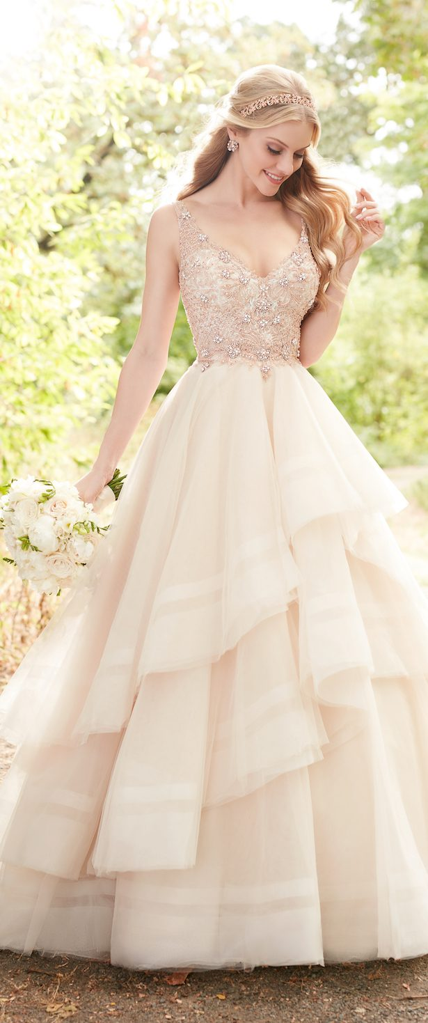 Wedding Dress Trends 2017: Ruffled Skirts