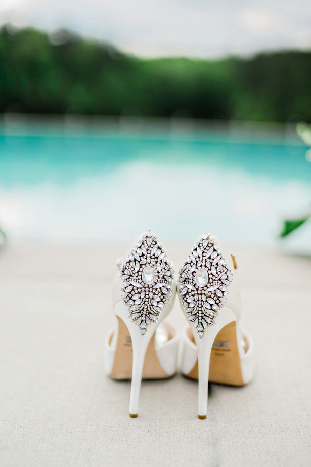 Beaded Wedding Shoes - Andie Freeman Photography