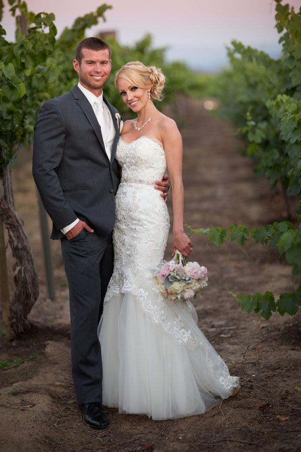 Romantic Winery Wedding with Dreamy Pastel Florals
