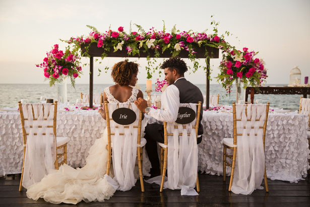 Beautiful destination wedding decor - Manuela Stefan Photography