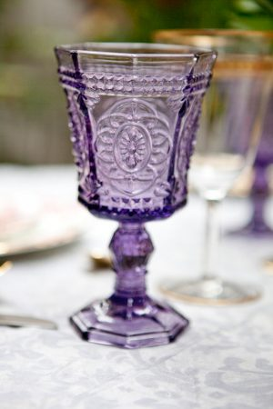 Beautiful wedding glasses - Claudia McDade Photography