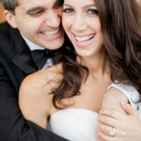 Beautiful wedding portrait - Clane Gessel Photography
