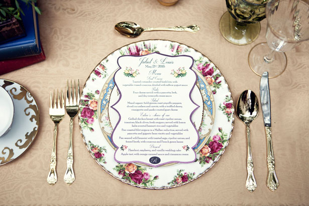 Beautiful wedding table-scape - Claudia McDade Photography