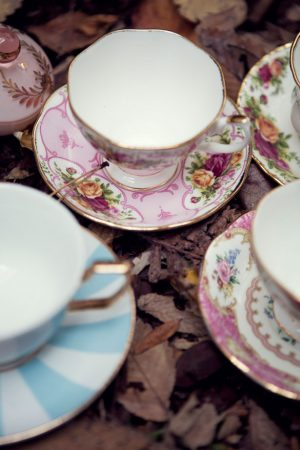 Beautiful wedding tea cups - Claudia McDade Photography
