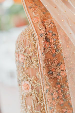 Bridal dress details - OLLI STUDIO