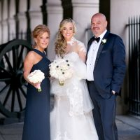 Bridal family photo - Mark Eric Weddings