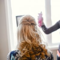 Bridal hairstyles - Melissa Avey Photography