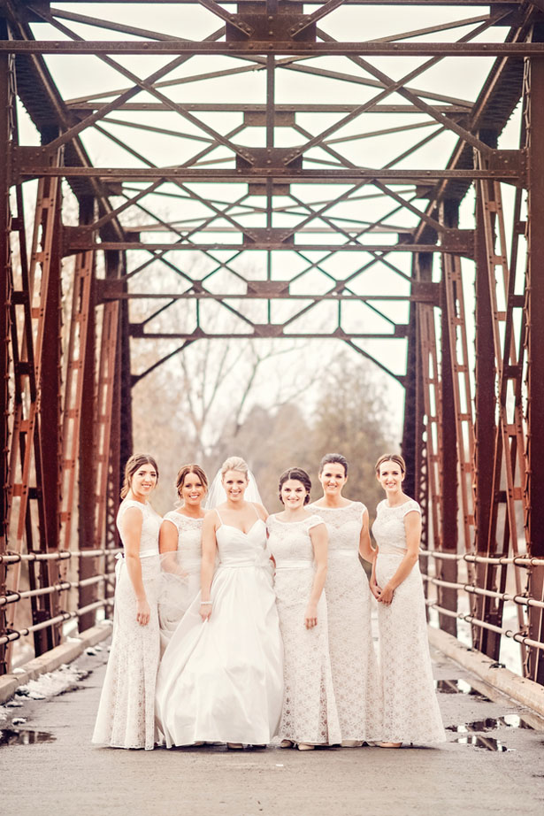 Bridal party picture - Melissa Avey Photography