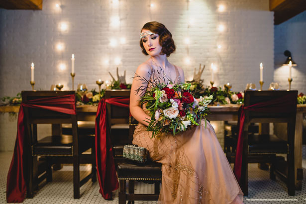 Art Deco Bridal Look - Edward Lai Photography