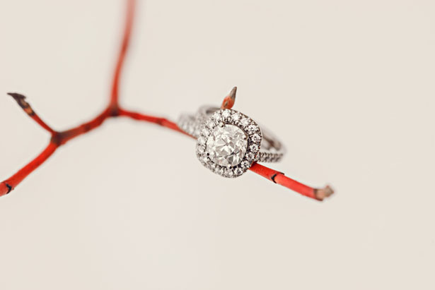 Bridal ring - Melissa Avey Photography