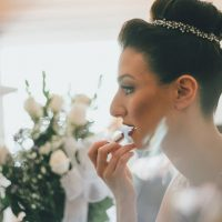 Bridal up hairstyle - OLLI STUDIO