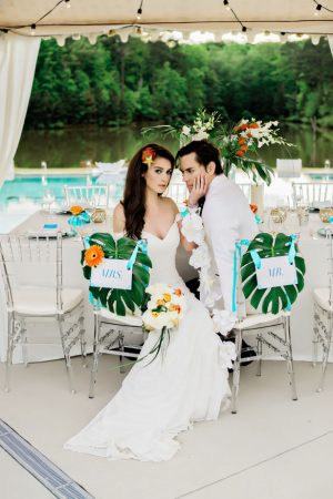 Tropical Wedding Inspiration - Andie Freeman Photography