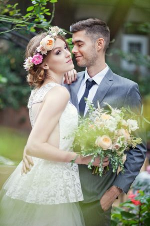 Bride and groom picture - Claudia McDade Photography
