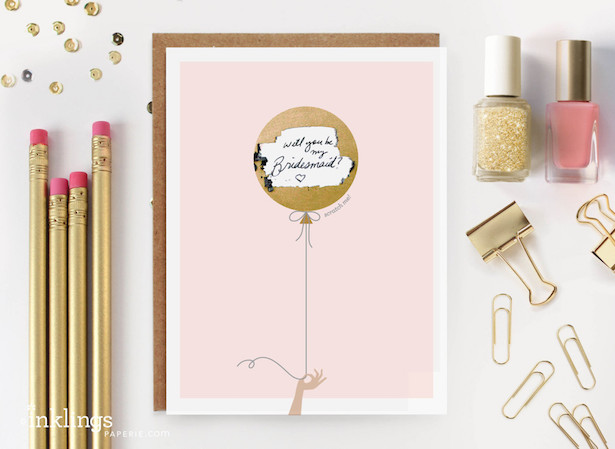 Bridesmaid Proposal Ideas - Scratch Off
