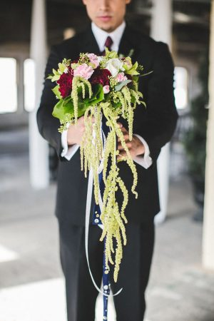 Cascading bridal bouquet - Alicia Lucia Photography