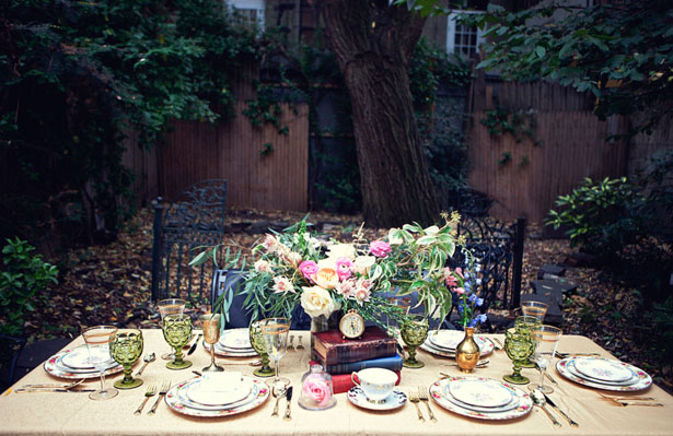 Classic wdding tablescape - Claudia McDade Photography