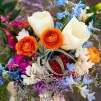 Colorful bridal bouquet - Aldabella Photography