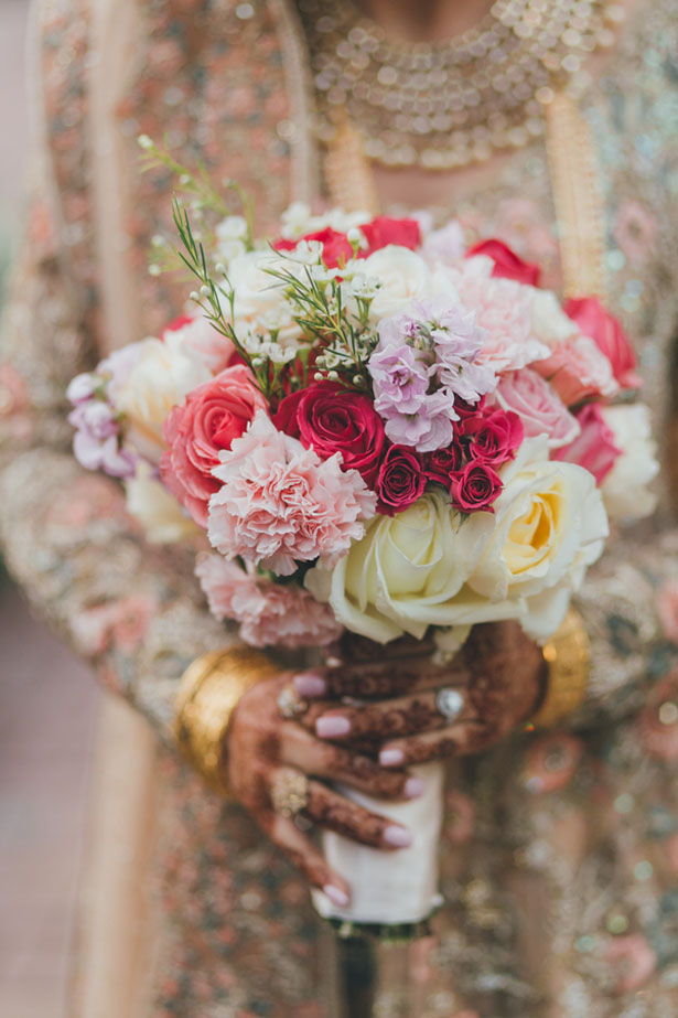 Colorful bridal bouquet - OLLI STUDIO