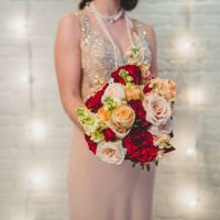 Colorful bridal bouquet - Edward Lai Photography