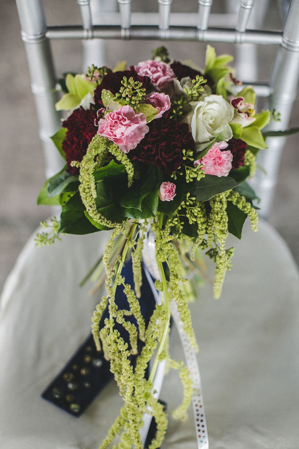 Colorful wedding bouquet - Alicia Lucia Photography