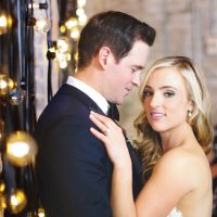 Cute bride and groom photo - Mark Eric Weddings