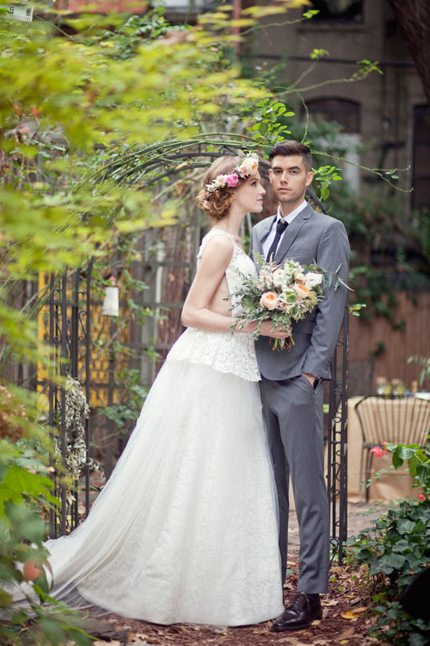 Cute bride and groom photo - Claudia McDade Photography