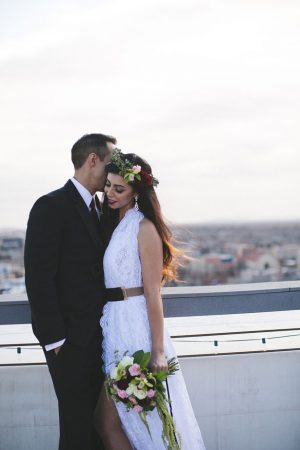 Cute bride and groom picture - Alicia Lucia Photography