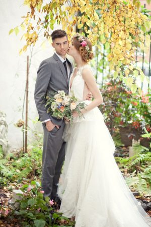 Cute bride and groom picture - Claudia McDade Photography