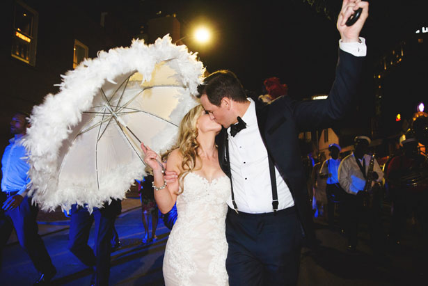 Cute outdoor wedding photo - Mark Eric Weddings