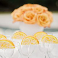Cute wedding drink cups - Andie Freeman Photography