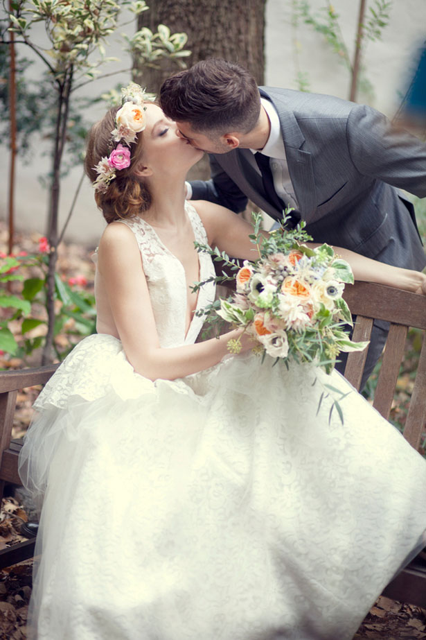 Vintage Garden Wedding Inspiration - Claudia McDade Photography