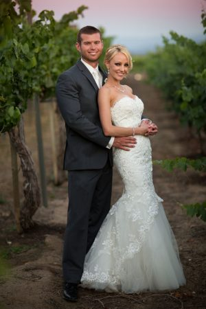 Cute wedding picture - Three16 Photography