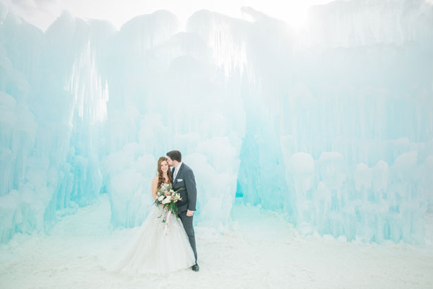 Ice Castle Wedding Inspiration - Andrea Simmons Photography LLC