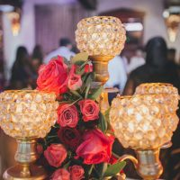Elegant wedding centerpiece - OLLI STUDIO