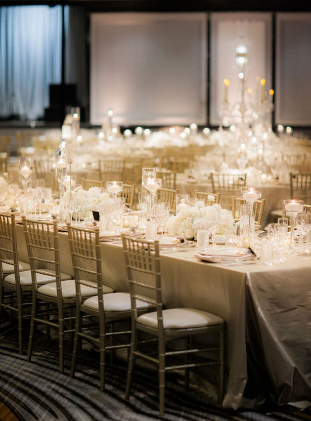 Elegant wedding decor - Clane Gessel Photography