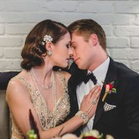 Fabulous Boardwalk Empire Wedding Inspiration - Edward Lai Photography